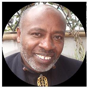 Author Patrick Ngugi